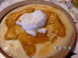 dessert ananas noix de coco recette d ananas sur lit de creme anglaise et ile a la noix