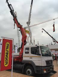 100 Truck Mounted Cranes BharatBenz On Twitter Mounted Cranes Displayed By Palfinger