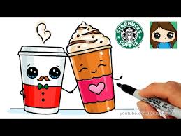 How To Draw Cute Starbucks Inspired Drinks
