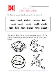 Words For The Letter N Choice Image Letter Examples Ideas