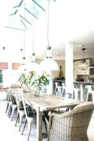 Farmhouse Table Lighting Dining Room Lights Above