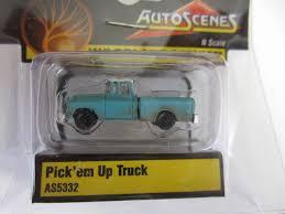 100 Pickem Up Truck AutoScenes N Scale Model Railroad Vehicle
