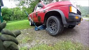 100 1991 Nissan Truck Replacing Front Shocks 2WD D21 Hardbody YouTube