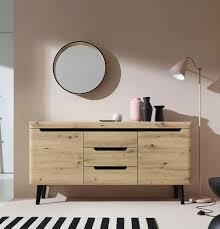 sideboard kommode anrichte wohnzimmer 160cm artisan eiche schwarz