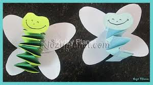 Simple Cute Paper Folding Craft For Kids