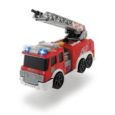 Shop Dickie Toys Mini Action Fire Truck Vehicle - Free Shipping On ...