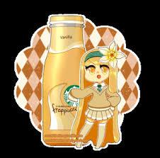 Starbucks Sorority Vanilla Frappuccino Chan 3 Gijinka Cute