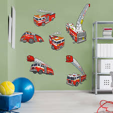 100 Fire Truck Wall Decals Tonka Collection Giant Officially Licensed Removable