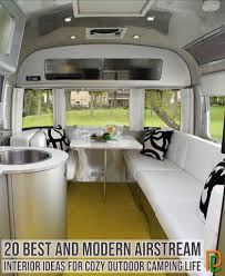 100 Airstream Interior Pictures 20 Best And Modern Ideas For Cozy Outdoor