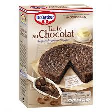 dr oetker backmischung tarte au chocolat 470 g