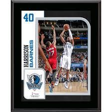 Dallas Mavericks Harrison Barnes Fanatics Authentic 10.5