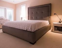 Cheap Upholstered Headboards Canada by King Size Tufted Headboard Canada Home Design Ideas