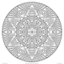 Advanced Coloring Pages Geometric For Adults Printable Download Pdf Jpg Free Book