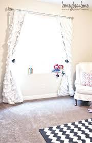 Pink Ruffle Curtains Uk by White Ruffle Blackout Curtains 96 White Ruffle Curtains Blackout
