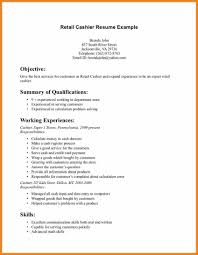 Retail Resume Objective Examples For Pics Example Sample Of