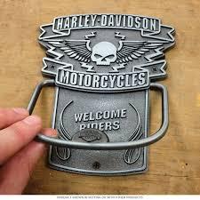 Harley Davidson Winged Skull Door Knocker