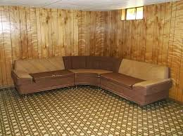 Karpen Furniture Early 1950s Lounge Mid Century Modern 3 Piece Sofa Sectional