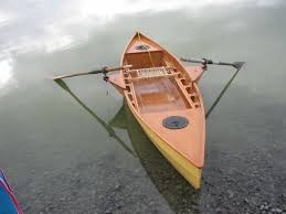 a cinderella canoe adapted for rowing intheboatshed net