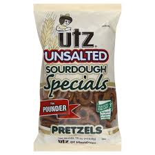 Utz Halloween Pretzels by Utz Pretzels Sourdough Unsalted The Pounder 16 Oz 453 6 G