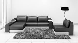 assise canape canapé d angle en cuir italien avec une assise amovible design et
