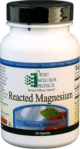 Ortho Molecular Reacted Magnesium Dietary Supplement - 60ct