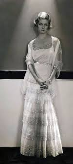 1930 s Vintage Fashion Chanel Dress 1930 Chanel
