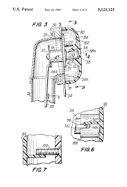 Tub Overflow Gasket Sizes by Patent Us5123123 Bathtub Overflow Control Device Google Patents