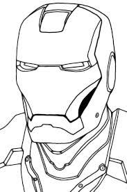 Iron Man Face Clipart