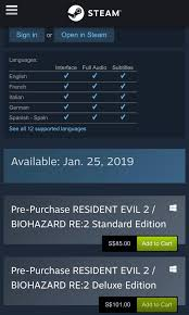 Resident Evil 2, Devil May Cry 5, Tom Clancy's The Division ... Xbox Coupon Codes Ccinnati Ohio Great Wolf Lodge Reddit Steam Coupons Pr Reilly Team Deals Redemption Itructions Geforce Resident Evil 2 Now Available Through Amd Rewards Amd Bhesdanet Is Broken Why Game Makers Who Abandon Steam 20 Off Model Train Stuff Promo Codes Top 2019 Coupons Community Guide How To Use Firsttimeruponcode The Junction Fanatical Assistant Browser Extension Helps Track Down Terraria Staples Laptop December 2018 Games My Amazon Apps