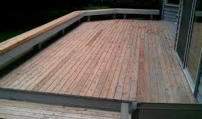 work in progress deck restoration