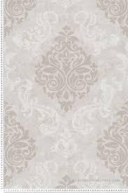 papier peint médaillons à paillettes gris taupe collection