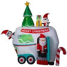 Holiday Living 899ft Animatronic Lighted Santa Christmas