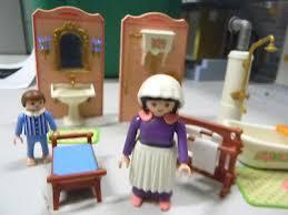 playmobil nostalgie puppenhaus badezimmer wanne