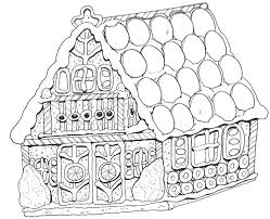 Magic Tree House Coloring Pages Free Gingerbread Colouring Images Best