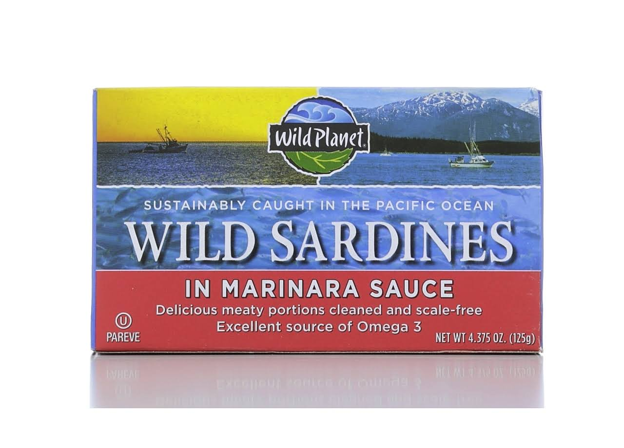 Wild Planet Wild Sardines in Marinara Sauce - 130ml