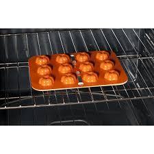 Nordic Ware Pumpkin Loaf Pan Recipe by Amazon Com Nordic Ware 43605 12 Cavity Pumpkin Cake Pops Pan
