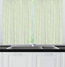 mandel grün eierschale schule küche vorhänge repetitive unregelmäßigen stil nested bleistift in pastell ton design grafik fenster drap