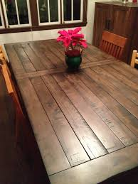 Diy Dining Room Table Inspirations Trends Made From Old Door Rustic