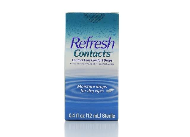 Refresh Contacts Sterile Contact Lens Comfort Drops - 0.4 oz