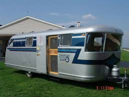 Vintage RV Trailers For Marketing