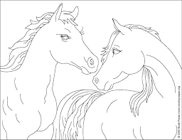 Brilliant Ideas Of Christmas Horse Coloring Pages On Resume Sample