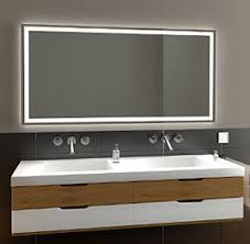 led badspiegel glas spiegelschrank nach maß glaswerk24