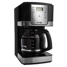 Mr CoffeeR Advanced Brew 12 Cup Programmable Coffee Maker Black Stainless