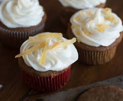 Recipe Bite You Back Gingerbread Cupcakes With Rum Lemon Icing