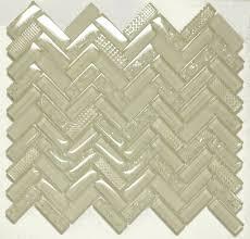Best Glass Tile Nippers by Mango Sherlong Cream Herringbone Glass Tile Sheets Hlb110 Glass