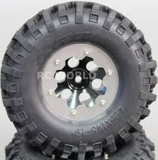 SCALE RC TRUCK WHEELS RIMS METAL 1.9 BeadLock W/ KNOBBY Tires (2pc ... Shop Remote Control 4wd Triband Offroad Rock Crawler Rtr Monster 4x 32 Rc 18 Truck Wheels Tires Complete 1580mm Hex Essentials 4x 110 Stadium And Set For Wltoys 18628 118 6wd Climbing Car 5219 Free Shipping 4pcs Rubber 150mm For 17mm 4 Chrome Truck Wheels With Pre Mounted Tires 1 10 Monster Amazoncom Alluing Fourwheel Drive Military Card Strong Power Scale 6 Spoke Short Course Tyres4pc Radio Mounted 4pcs Tyre 12mm Hex Rim Wheel Hsp Hpi Traxxas Off Road Bigfoot In Toys