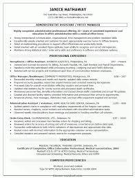 Cover Letter Regular Billing Office Manager Resume Office