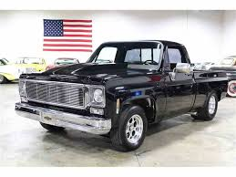 1975 Chevrolet Silverado For Sale | ClassicCars.com | CC-1025575 1975 Chevrolet Chevy Blazer Jimmy 4x4 Monster Truck Lifted Winch Bumpers Scottsdale Pickup 34 Ton Wwmsohiocom Andy C10 Pro Street Her Best Side Ideas Pinterest Cold Start C30 Dump Youtube K10 Truck Restoration Cclusion Dannix Mackenzie987 Silverado 1500 Regular Cab Specs Photos K20 Connors Motorcar Company Parts Save Our Oceans C Homegrown Shortbed
