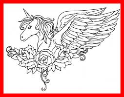 The Best Fresh Pegasus Coloring Pages Of Baby Unicorn Styles And