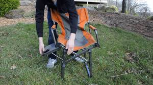 alps mountaineering cside chair youtube